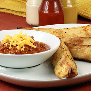Perfect and delicious chili fries with exquisite prime products